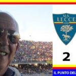 Lecce – Spal  2-1. La Spal ci prova ma vince il Lecce.