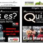 La domenica con l'Aperitivo culturale insieme a Salvatore Crudo e Enzo Marenaci