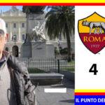 Roma – Lecce 4-0 . Il Lecce si ferma; La Roma dilaga.