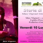 10 luglio Storie di Ruggine – Max Vigneri trio in Concerto