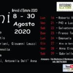 """ULTIMI"" – Brividi d'Estate 2020"